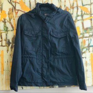 Gap Navy Blue Anorak Utility Jacket